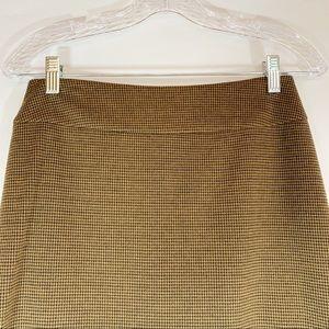 Halogen Skirts - Halogen Skirt in Camel and Brown